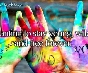 forever, just girly things, and Forever Young image