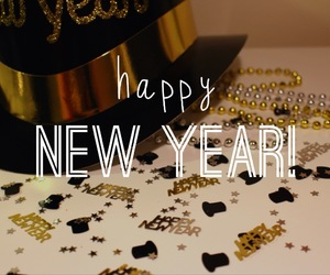 new year, 2014, and happy image