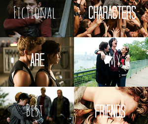 harry potter, the mortal instruments, and tfios image