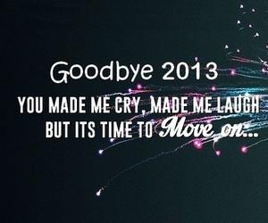 goodbye and 2013 image