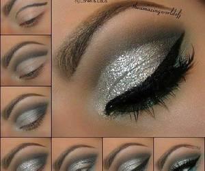 eyes, makeup, and diy image