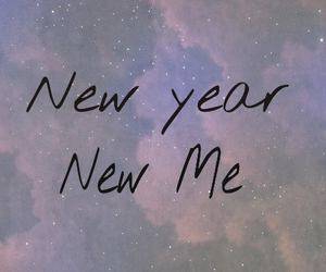 me, new, and new year image