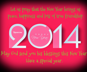 friendship, new year, and peace image