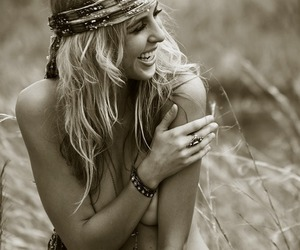 girl, hippie, and photography image
