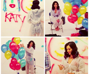 balloons, katy perry, and party image