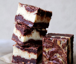 sweet, cheesecake, and chocolate image