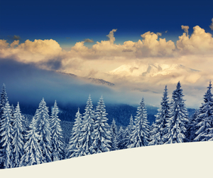 amazing, snow, and nature image