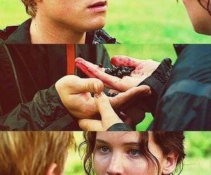 the hunger games, hunger games, and peeta mellark image