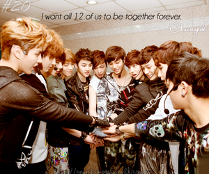 exo, kpop, and phrases image
