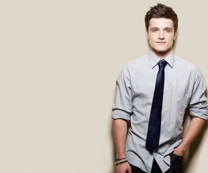josh hutcherson, hunger games, and Hot image