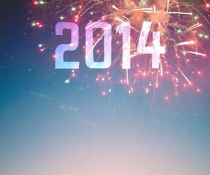 2014, new year, and happy image