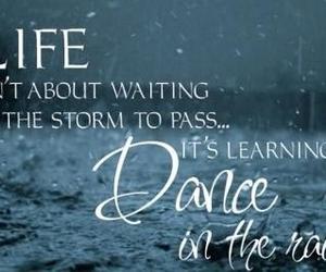 beautiful, dance, and rain image