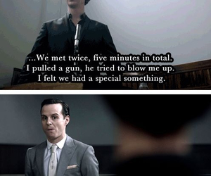 feeling, sherlock, and moriarty image