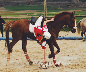 champion, girl, and horse image