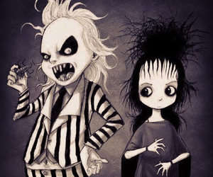 beetlejuice and gothic image