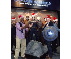 captain america, merry christmas, and the winter soldier image