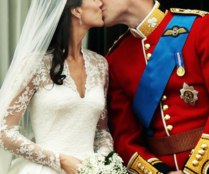 kiss, wedding, and kate middleton image