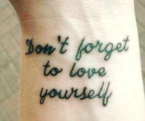 quotes, tatoo, and love image