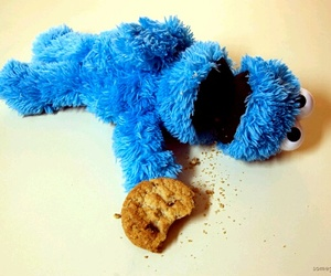 blue, cookie, and Cookies image