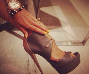 high heels, style, and fashion image
