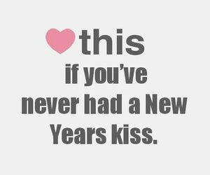 kiss, new year, and heart image