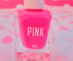 pink, nails, and girly image