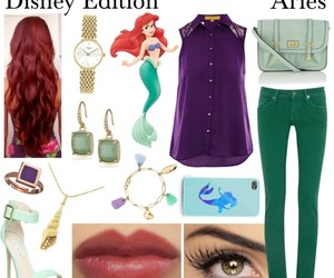 ariel, astrology, and eyes image