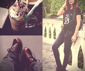 coffee, lookbook, and style image