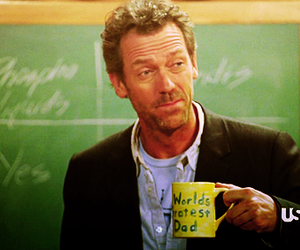 cup, gregory house, and house md image