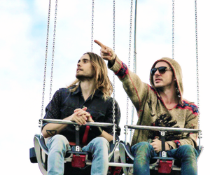 30 seconds to mars, shannon leto, and up in the air image