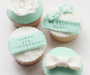 cupcake, blue, and cute image