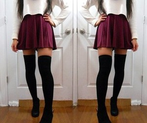 fashion, sweater, and ootd image