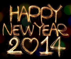 2014, happy, and happy new year image