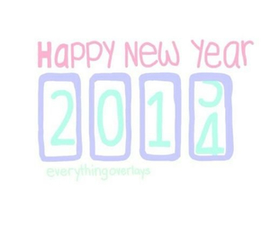 2014, happy, and new year image