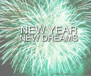 Dream, fireworks, and 2014 image