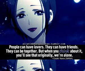 quotes, anime, and Nana image