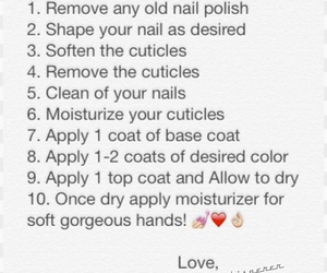 10, manicure, and nails image