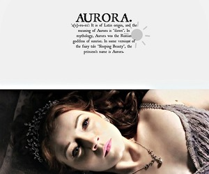 aurora, ouat, and once upon a time image