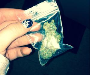 dope, marijuana, and grunge image