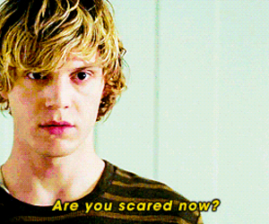 evan peters, american horror story, and i love him image