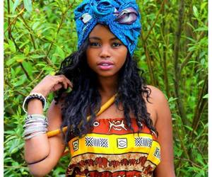 black woman image