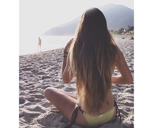 hair, pretty, and summer image
