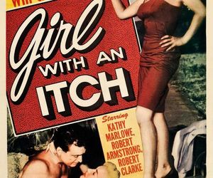 movie poster, retro, and 1950s image