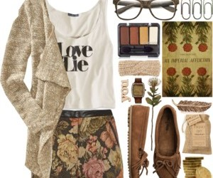 fashion, floral, and flower image