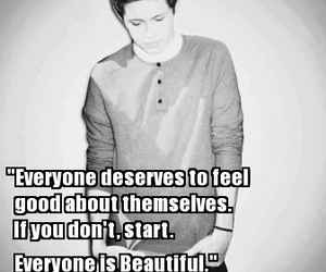 quote, beautiful, and niall horan image