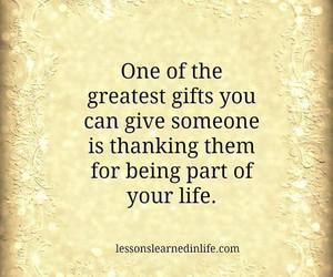 quote and gift image