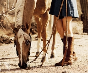 boots, desert, and girl image