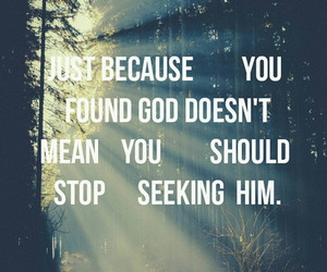 god, quote, and seek image