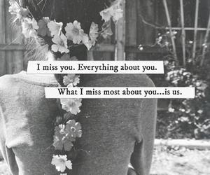 feelings, flowers, and sad image