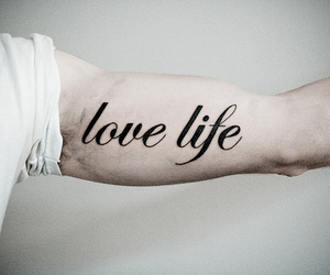 tattoo, life, and love life image